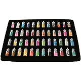 48 Botellas De Uñas Pegatina Elegante Manicura Del Arte DIY Brilla Lentejuelas Consejos De Decoración