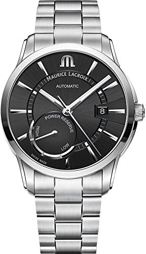 Maurice Lacroix PONTOS POWER RESERVE PT6368-SS002-330-1 Automatic Mens Watch Classic & Simple