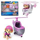 Ultimate Rescue   Mini Fahrzeuge mit beweglicher Spiel-Figur   Paw Patrol, Figur:Skye Hubschrauber