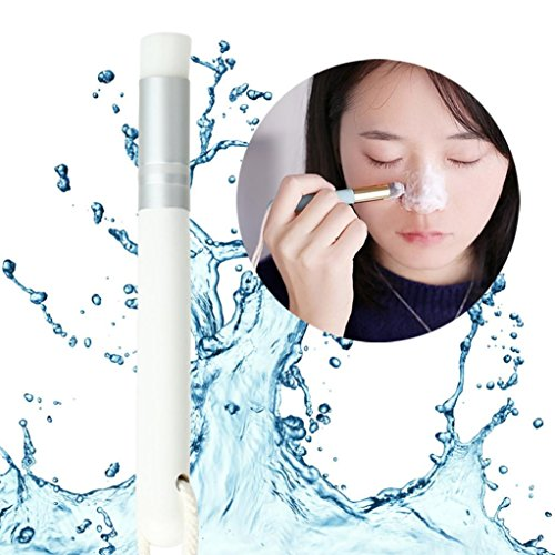 Se Détacher Point Noir Nettoyage Du Nez Lolittas Soin De La Peau Outil De Suppression Pinceau De Maquillage (Blanc)