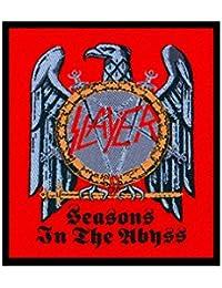 SLAYER parche–Seasons In The abbyss–Slayer Patch–tejida & licencia oficial..