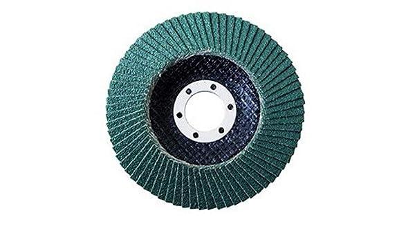 Korn 40 sehr grob, 10 Proteco/® Top F/ächerschleifscheiben 150 mm Schleifteller F/ächerscheiben Schleifmopteller f/ür Stahl Holz