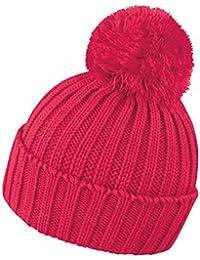 Cappellino Invernale Cappello con PON PON Caldo da Sci Montagna Antivento  Berretto Ricamato Result be2768a57f91