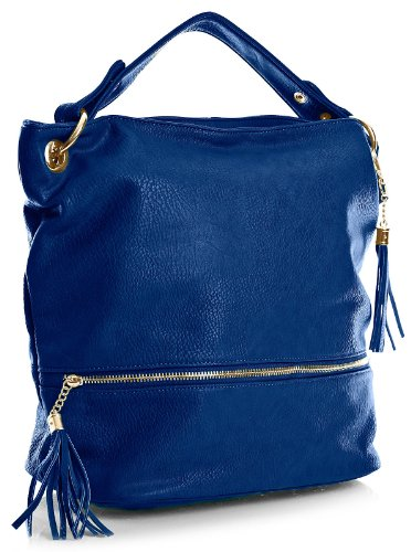 Spalla Blu A Royal Handbag Shop Borse Donna Big vxFwpBqYIt