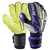 Rinat Arkano USA Turf Keepershandschoen, paars/neongeel, 9