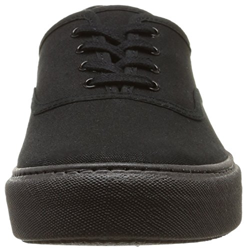 Victoria Ingles Lona P.Negro, Baskets Basses Mixte Adulte Noir (10 Negro)