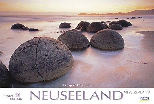 Neuseeland 2018: Großer Wandkalender. Natur und Landschaften. Travel Edition mit Jahres-Wandplaner. PhotoArt Panorama Querformat: 58x39 cm.