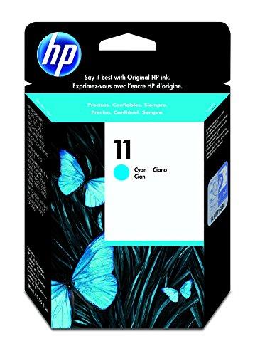 HP 11 Cartouche d'encre d'Origine 1 x Cyan 2350 pages