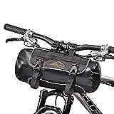 BSA Gear Borsa Manubrio Handlebar Pack 8/10L Nero (Borse Bike Packing) / Handlebar Pack Front Roll Bag 8/10L Black (BikePacking Bags)
