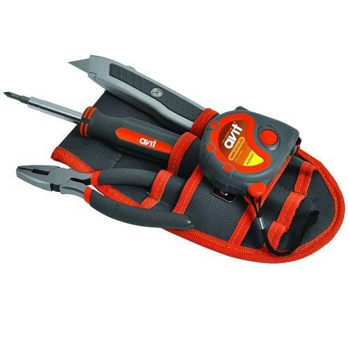 Avit AV20022 Werkzeuggürteltasche, 9-teilig