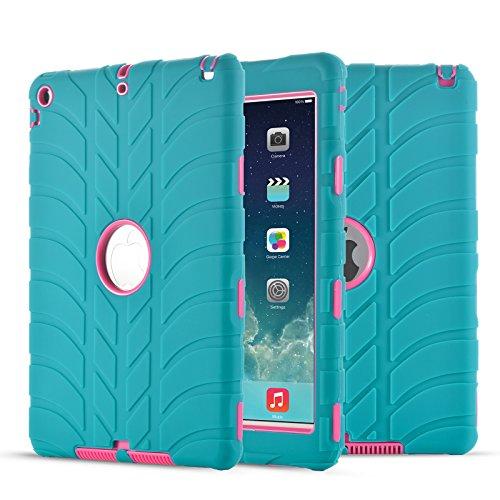 ad Air, iPad 5, Fisel Reifen-Design, dreilagig, stoßfest, Hybrid, Kratzfest, stoßfest, stoßfest, stoßfest, für iPad Air/iPad 5 ()