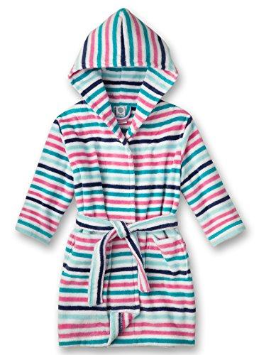 Preisvergleich Produktbild Sanetta Mädchen Bademantel 231657, Gr. 104, Rosa (fuchsia 3518)