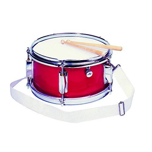 Goki 14013 - Spielmannszugtrommel, rot