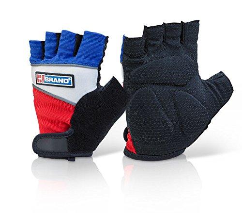 Fingerlose Gel-Handschuhe–XL
