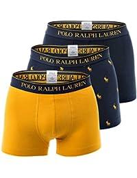 Polo Ralph Lauren Short Homme 3 pièces Classique, Solide/Motif - Marine/Jaune
