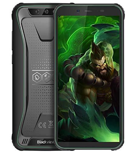 Blackview BV5500 Pro Robustes Telefon Android 9.0 Outdoor-Smartphone Ohne Vertrag, IP68 wasserdicht 4G Dual-SIM-Handy, 5,5