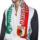 2x FCA FC Augsburg Werder Bremen Schal Fanschal Rot Weiß Grün