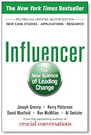 Influencer: The New Science of Leading Change, Second Edition (Paperback) (Business Books)