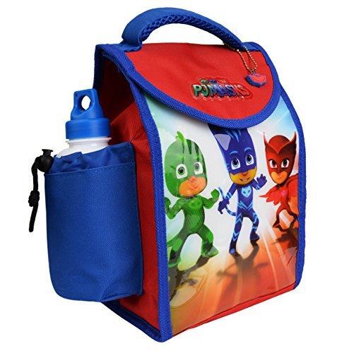 Charakter Kinder Kinder Lunchbox Tasche mit Sport Wasserflasche - wunderbare Damen, medium PJ Maske