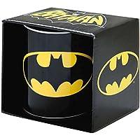 Kaffeebecher Batman - Logo - DC Comics - schwarz - Tasse - Lizenziertes Originaldesign - LOGOSHIRT