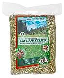Heu-Heinrich® 1kg Bio - Bergwiesen - Kräuterheu aus dem Naturpark Thüringer Wald für Kaninchen Meerschweinchen Nager - Heu Ernte 2019