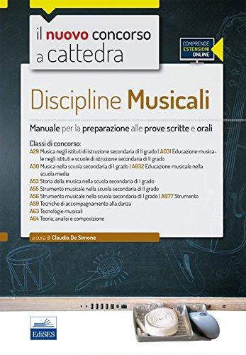 CC4/52 Discipline musicali nella scuola secondaria. Per le classi A29, A30, A53, A55, A56, A59, A63, A64. Con espansione online