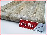 DC Fix Holzmaserung Sonoma Eiche hell 2m x 67,5cm selbstklebende Kunststoff, Vinyl Kontakt Papier 200–8433