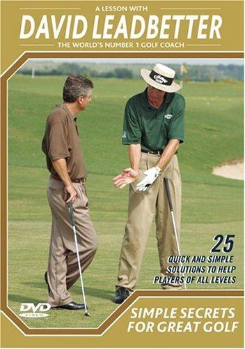 David Leadbetter: Einfach Geheimnisse für tolle Golf DVD
