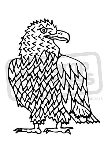 A7 'Adler' Stempel (Unmontiert) (SP00002449) (Adler-stempel)
