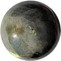 Crocon Labradorit Reiki Healing Fire Kugel Ball mit Ständer Edelstein Energie Generator für Chakra Balancing Aura... preisvergleich bei billige-tabletten.eu