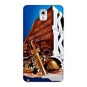 Special King Power Back Case Cover for Galaxy Note 3
