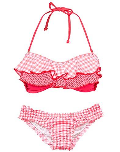 Phax Swimwear–Hula Top Hoch–Damen Bikini-Hose, Panty Bleu Blue