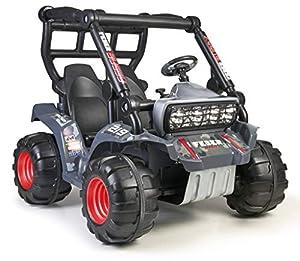 FEBER Buggy - Coche eléctrico de 2 plazas para niños y niñas de 3 años en adelante, 12V (Famosa 800012472)