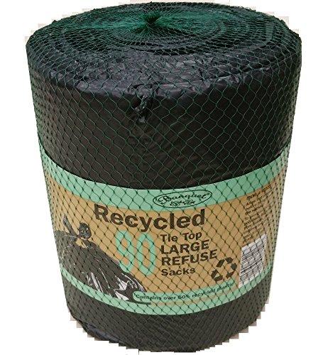3x Banquet recyceltem Krawatte Top groß Abfallsäcke (270Taschen insgesamt) (Bankett-tasche)