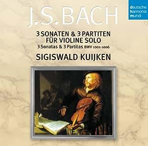 Bach:Violin Sonatas & Partitas [Import allemand]