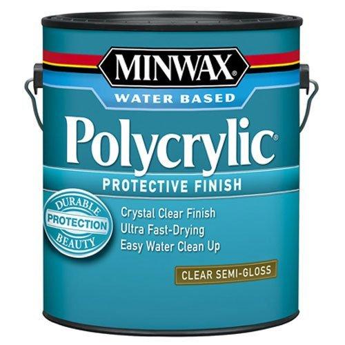 minwax-14444-polycrylic-water-based-protective-clear-finish-semi-gloss-1-gallon-by-minwax