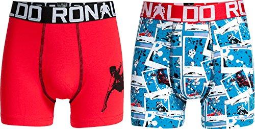 CR7 Cristiano Ronaldo BOYS Boxershorts Jungen 2-Pack (CR7-8400-5100-481-116/128)