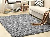Amazinggirl Wohnzimmer Teppich Zimmerteppich Teppich für kinderzimmer 160x230 Farben zum Wahl Schlafzimmer (Hellgrau, 160 x 230 cm)
