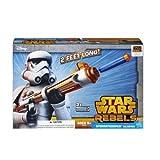 Star Wars Disney Rebellen Spielzeug–Sturmtruppen Deluxe Nerf Dart Blaster