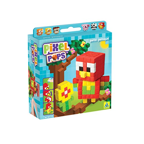 Orb Factory 621608 - Pixel Pops Parrot