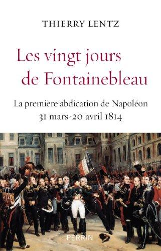 Les vingt jours de Fontainebleau