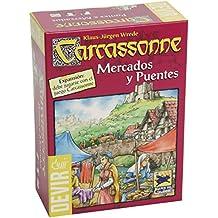 Devir - Carcassonne mercados y puentes, juego de mesa (BGCAMPU)