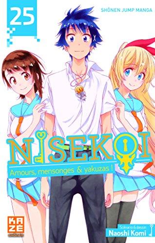 Nisekoi (25) : Nisekoi : amours, mensonges et yakuzas !