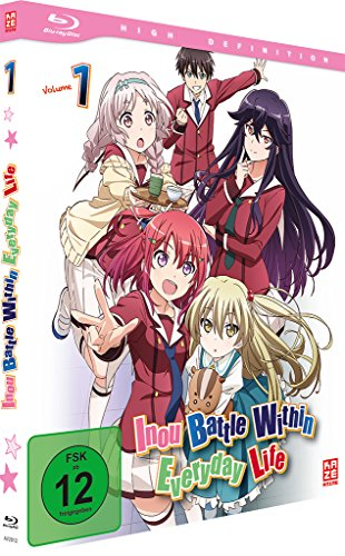 Inou Battle Within Everyday Life - Vol.1 (Episoden 1-6) [Blu-ray]