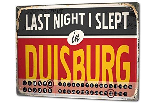 Wandkalender 2019 Jahreskalender Dauerkalender 2020 Kalender 2021 Terminplaner Fotokalender Stadt Duisburg Deutschland Metall Magnet