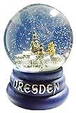 Schneekugel Sehenswürdigkeiten Dresden groß