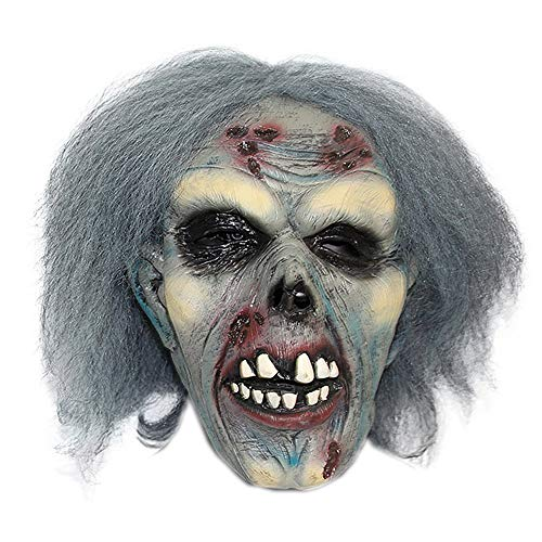 Halloween Maske Horror Maske Zombie Dekoration Requisiten Film Performance Spielzeug Teufel Gesichtsschutz Requisiten