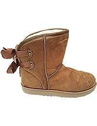 7ab1c14eb25b1 Bottine femme fourrure Boots fur Fourré Cheville Court Hiver Fille JR908  camel