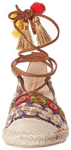Coolway Bamburi, Espadrilles femme Marron