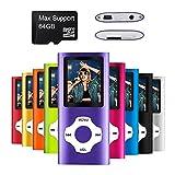 Mymahdi MP3/MP4-Player, lila mit...